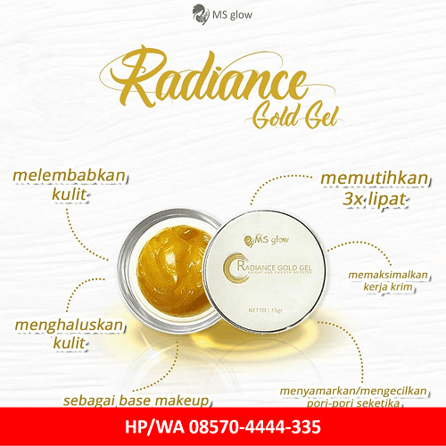 radiance gold ms glow
